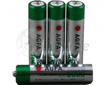 Rechargeable batteries AAA 900 mAh Camelion 4 pieces