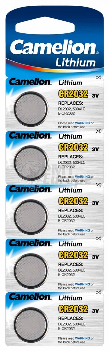 Button cells CR 2032 (5 pieces)