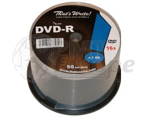 DVD-R 4.7GB 16X Thats Write 600 pcs