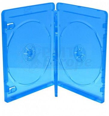 Blu-ray Disc case for 3 discs blue 5 pieces