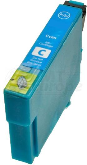 Epson T1292 inktcartridge cyaan hoge capaciteit + chip (huismerk)
