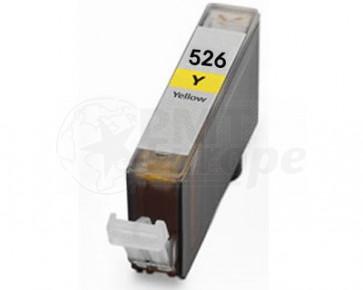 Canon CLI-526Y inktcartridge geel + chip (huismerk)