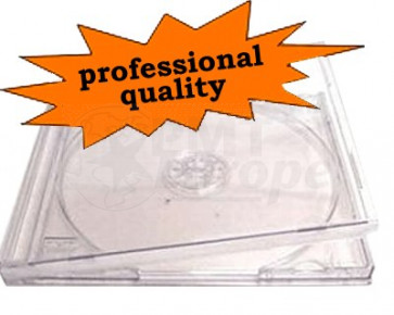 CD jewelcase 10,4mm clear premiumline 10 pieces