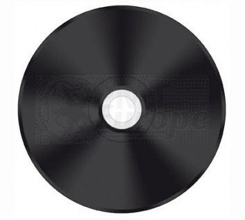 CD-R 80min Black 25 pieces full white inkjet printable