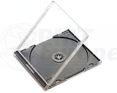 CD jewelcase 10,4mm black budgetline+ 49 pieces