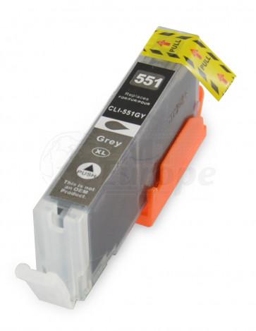 Canon CLI-571GY inktcartridge grau + chip (own brand)