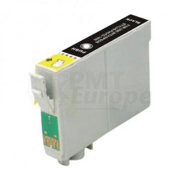 Epson T0551 inktcartridge zwart + chip (huismerk)