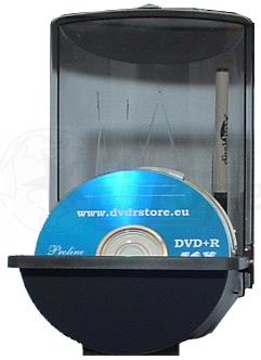CD / DVD deskbox ruimte voor 50 schijven