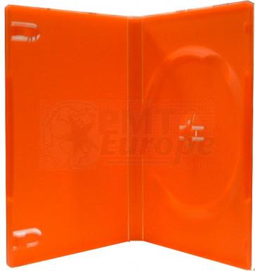 DVD case 14mm 1 dvd red mix 98 pcs recycling