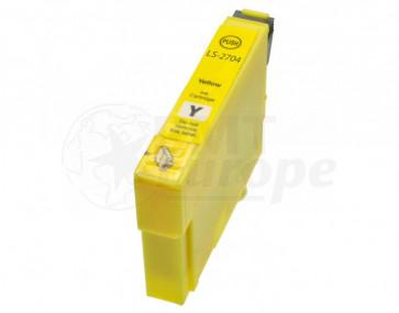 Epson T0554 inktcartridge geel + chip (huismerk)