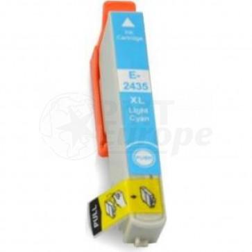 Epson 24XL (T2435) inktcartridge licht cyaan hoge capaciteit (huismerk)
