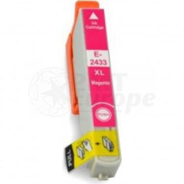 Epson 24XL (T2433) inktcartridge magenta hoge capaciteit (huismerk)