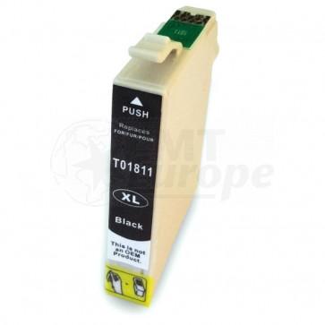 Epson 18XL (T1811) inktcartridge zwart hoge capaciteit + chip (huismerk)