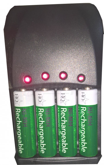 Camelion bc-1007 Super Fast battery Charger 4 Channels!