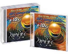 CD-RW mini 8cm Primedisc 5 pieces