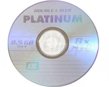 DVD+R 8.5GB 8X Platinum double layer 10 pieces