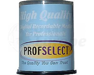 DVD+R 4.7GB 16X Profselect 100 pieces