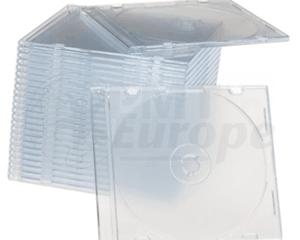 CD jewel slimcase 5.2mm transparant Premiumline 100 pieces