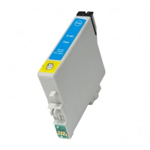 Epson T0482 inktcartridge cyaan + chip (huismerk)