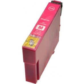 Epson T0803 inktcartridge magenta + chip (huismerk)