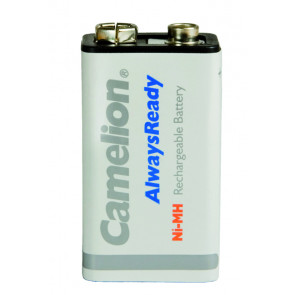 Rechargeable batteries 9 Volt 200 mAh Camelion