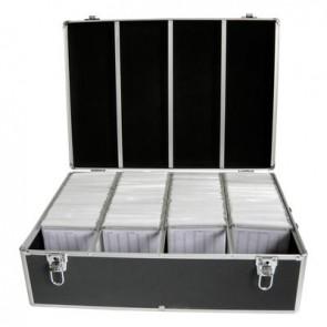DJ koffer voor 1000 schijven zwart