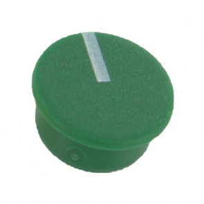 Cap for knob Green (9mm) C111G with line