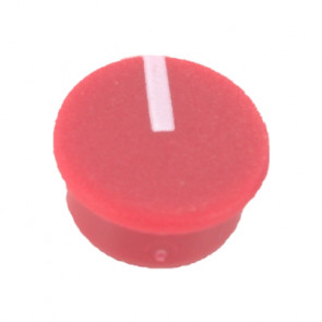 Cap for knob Red (9mm) C111R with line