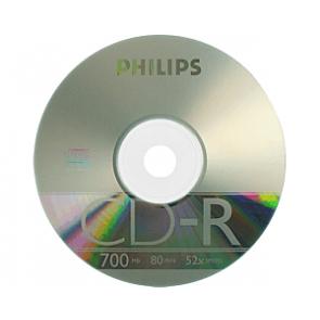 CD-R 52X Philips 50 stuks