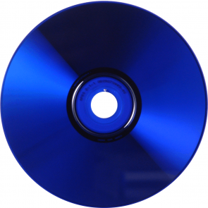 CD-R 80min Blue 25 pieces full white inkjet printable