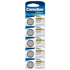 Button cells CR 2032 (5 pieces)