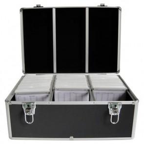 DJ koffer voor 500 schijven black