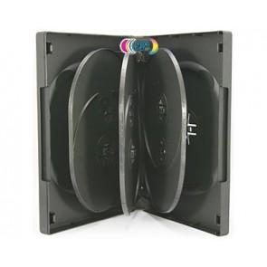 DVD doos 8 dvds zwart 3 stuks