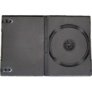 DVD case  14mm 1 dvd black 98 pieces