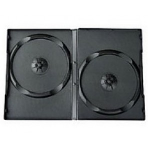 DVD doos 14mm 2 dvds zwart 98 stuks