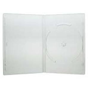 DVD doos 14mm 1 dvd doorzichtig mix 100 stuks recycling