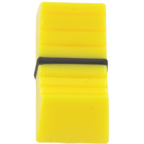 Fader button for 5mm Yellow
