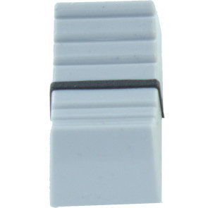 Fader button for 5mm Gray