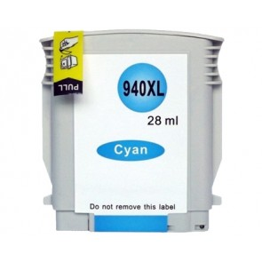 HP 940XL (C4907AE) inktcartridge cyaan hoge capaciteit (huismerk)