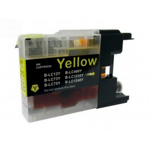 Brother LC-1220 / 1240Y inktcartridge geel (huismerk)
