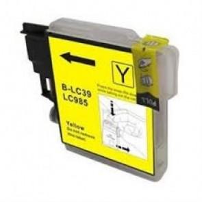 Brother LC-985Y inktcartridge geel (huismerk)