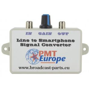 Line to  smartphone convertor