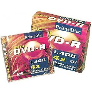 DVD-R mini 8cm Primedisc 12 pieces