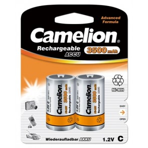 Rechargeable batteries C-Baby 3500 mAh Camelion 2 pieces