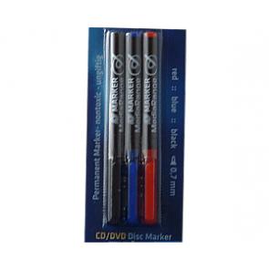 CD/DVD pen (stift) 3 stuks