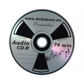 CD-R 74min AUDIO PMT premiumline 100 pieces
