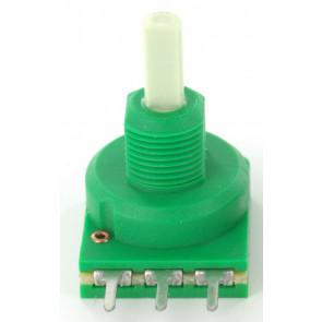 Potentiometer 10KA (Lin) mono + Center lock D-shaft 4mm for Eela audio mixers