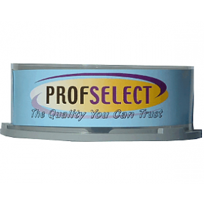 DVD+R 4.7GB 16X Profselect 25 pieces full white inkjet printable