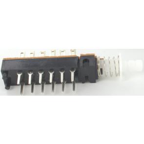 Switch 6 pin self locking for Eela audio mixers