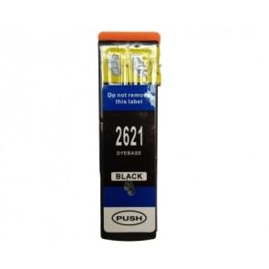 Epson 26XL (T2621) inktcartridge zwart hoge capaciteit + chip (huismerk)